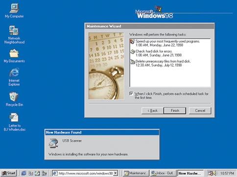 Windows 98 介面