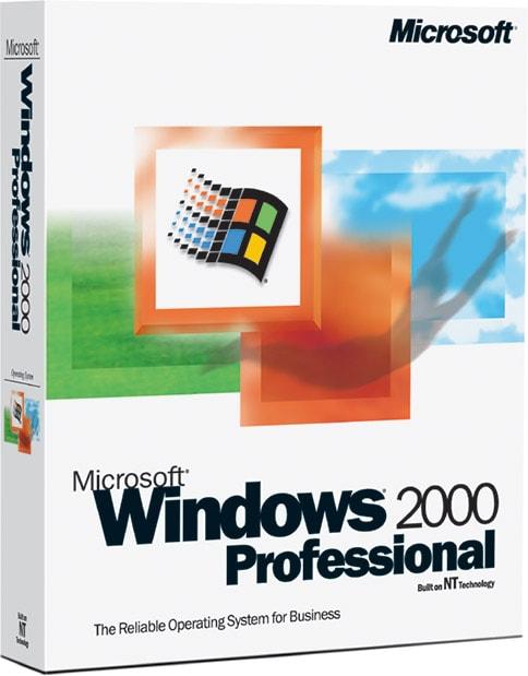Window 2000銷售外盒