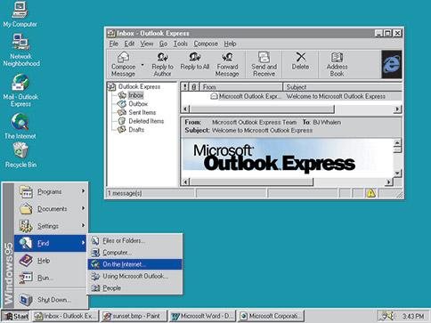 Windows 95 介面