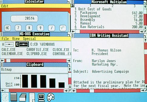 Windows 2.0操作介面