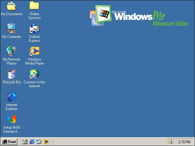 Windows ME 介面