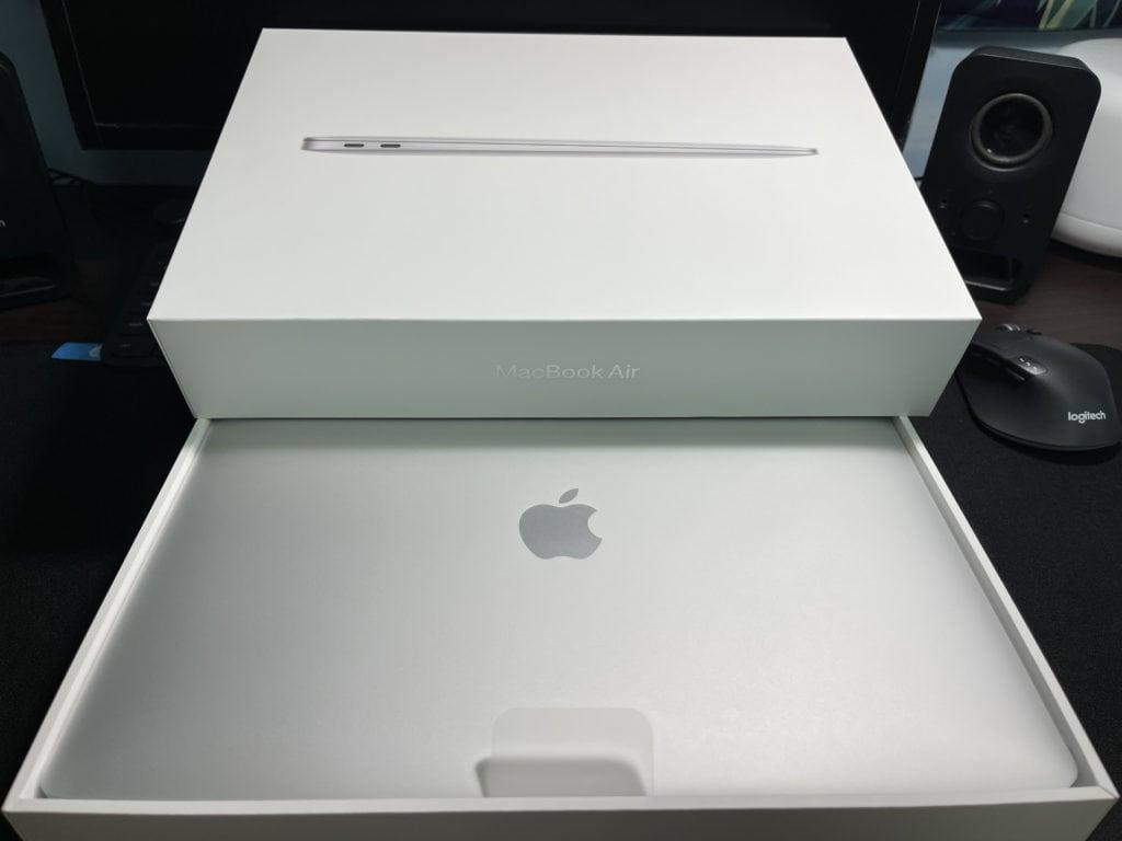 開箱評測 2020 Macbook Air M1 M1 CPU的暴力美學 無風扇設計超安靜 17