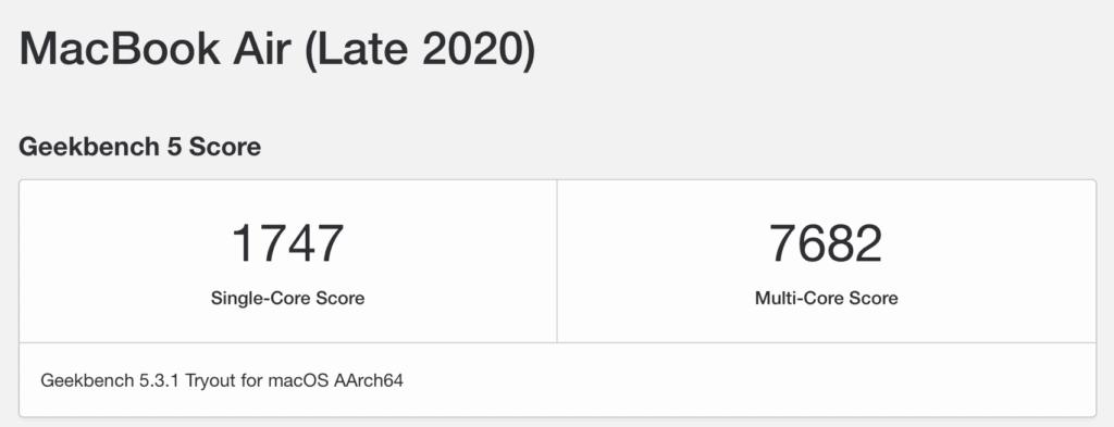開箱評測 2020 Macbook Air M1 M1 CPU的暴力美學 無風扇設計超安靜 41