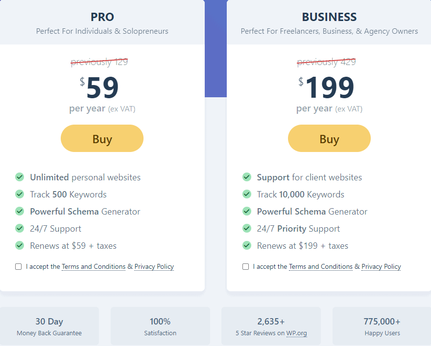 rankmath價格