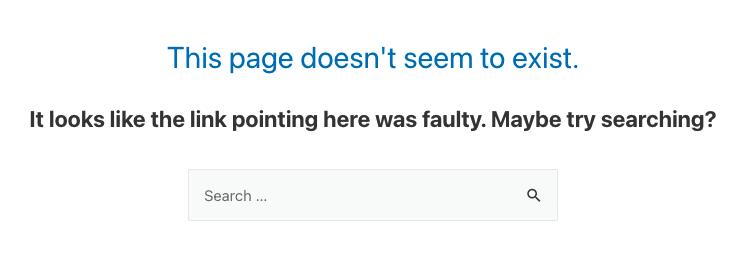 Rank Math 404 error