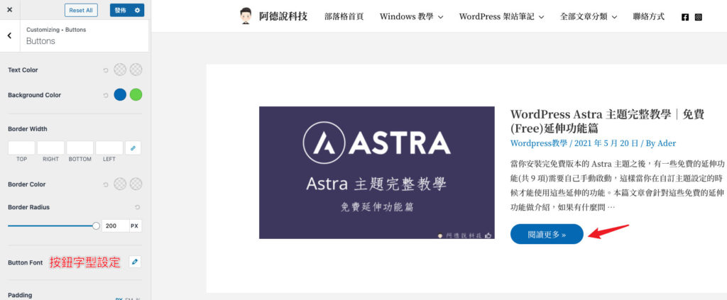 Astra-Theme-Pro-Buttons-Font