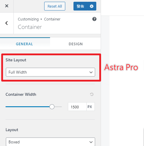 Astra-Theme-Pro-Container-Site-Layout