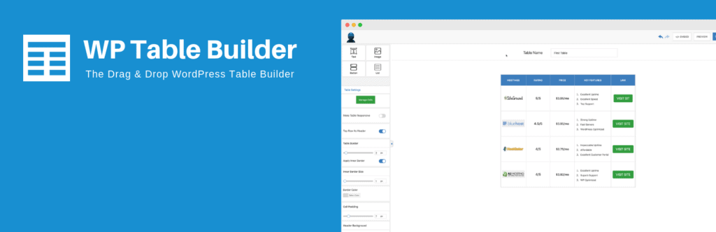 WP-Table-Builder