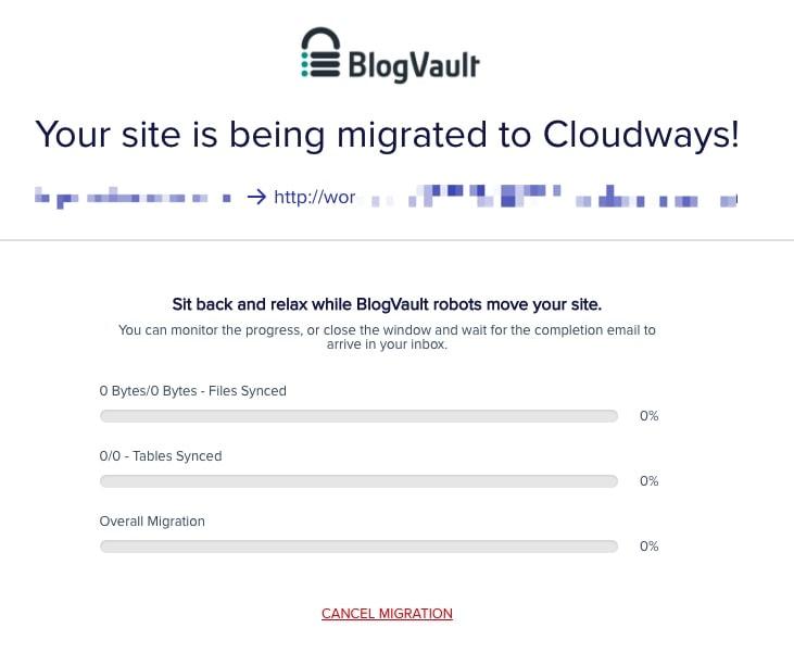 網站搬家|如何從 Bluehost/A2 Hosting 搬到 Cloudways? Cloudways WordPress Migrator 外掛輕鬆幫你搬家 13